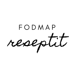 FODMAP reseptit