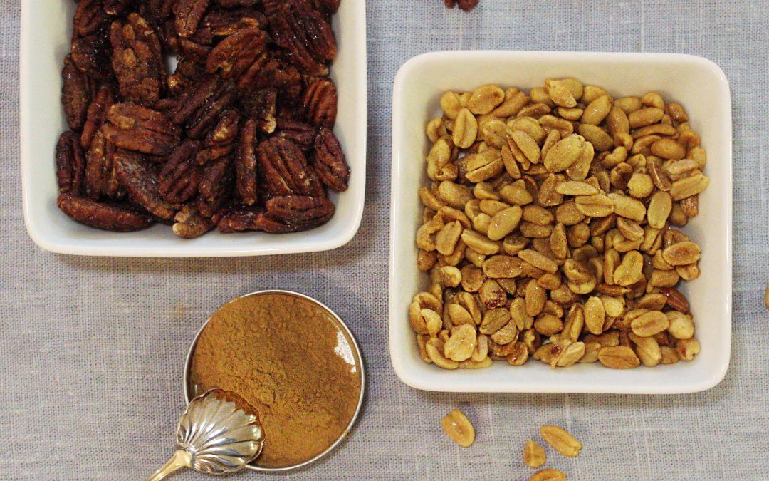 Helpot paahdetut pähkinät