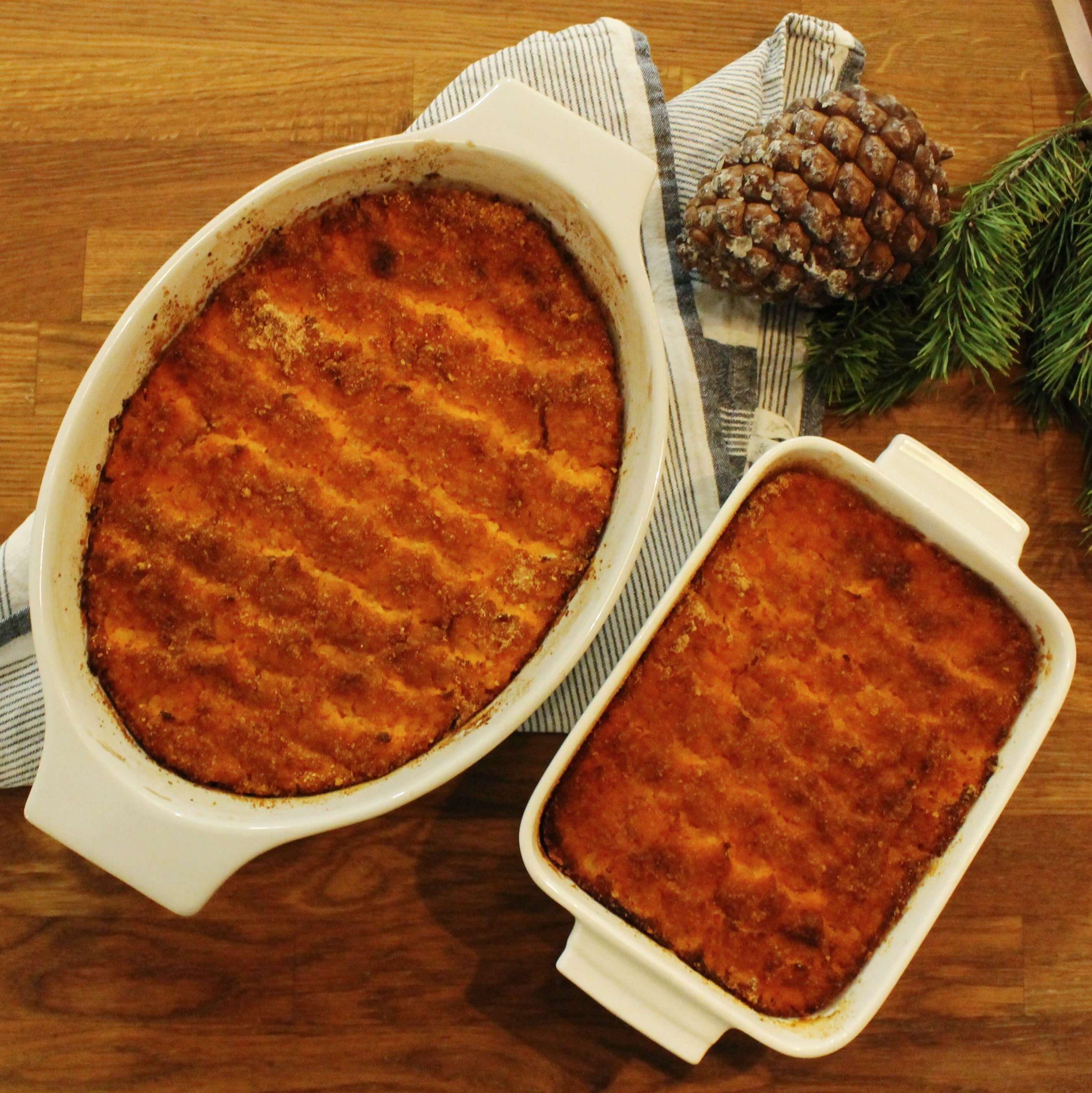 FODMAP porkkanalaatikko resepti