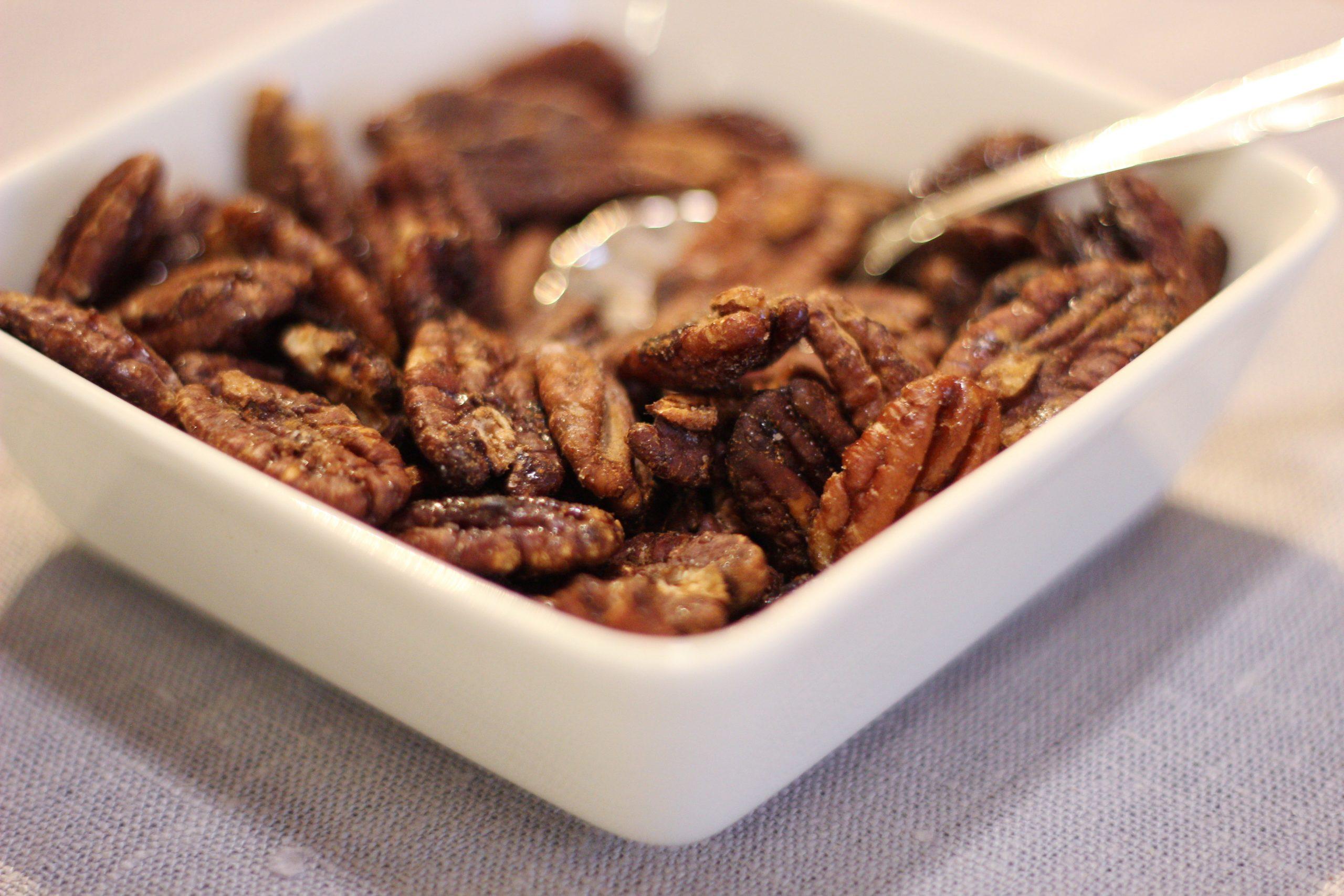 FODMAP helpot paahdetut pähkinät