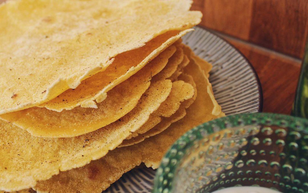 Gluteeniton tortilla maissista