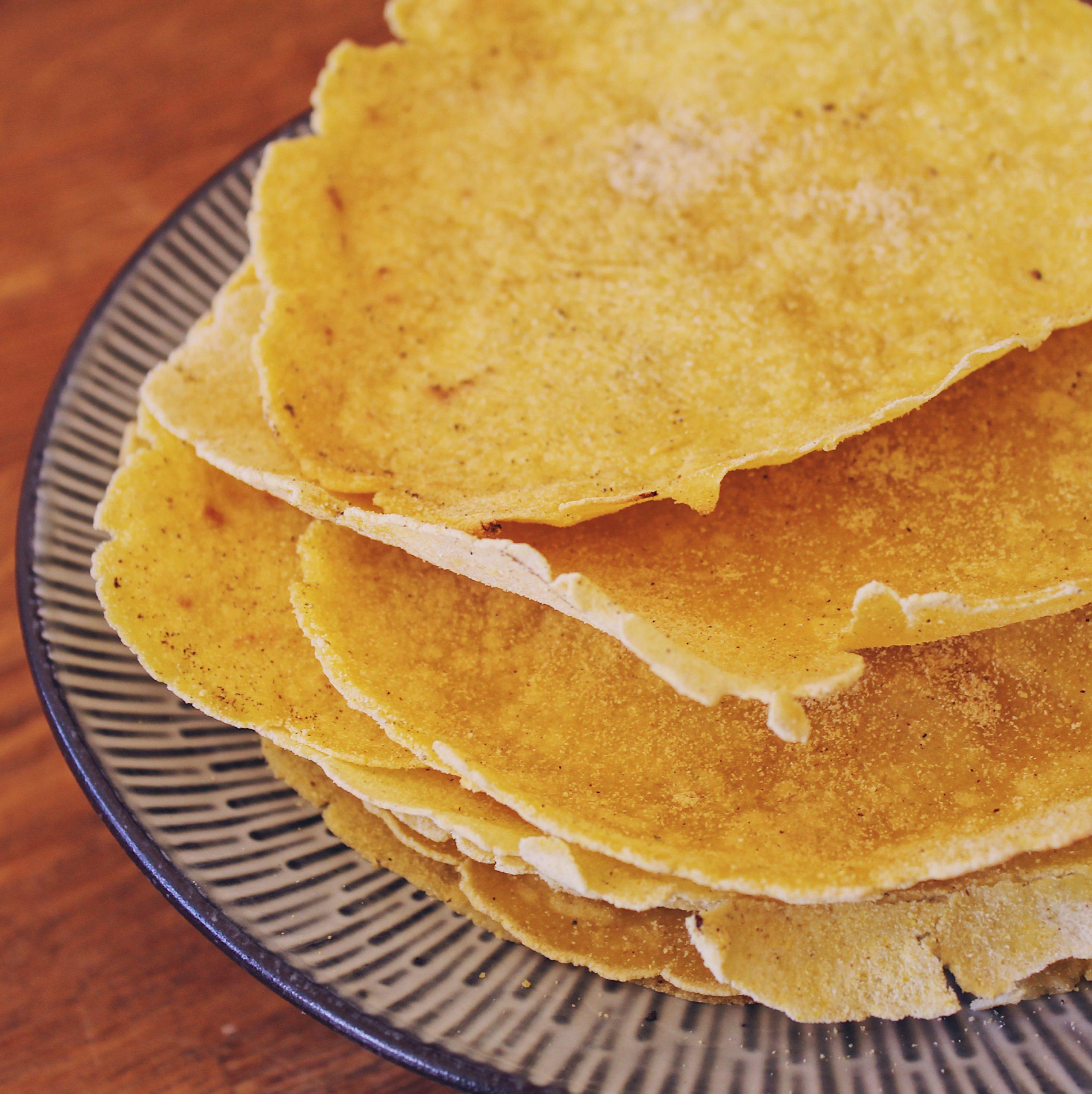 FODMAP gluteeniton tortilla maissista